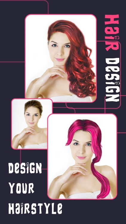 Girly Hair Design Pro - Wig Salon to Change Hairtyle & Color