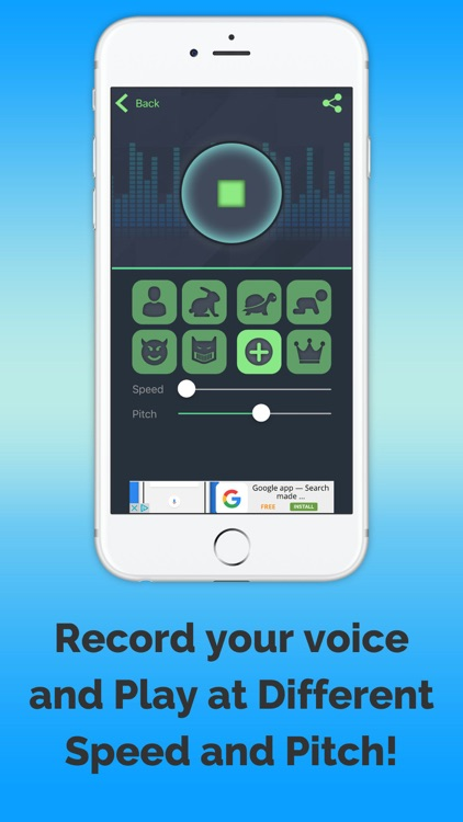 VoiceChange-harmony screenshot-4