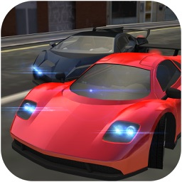 Extreme Super Sports Car City Traffic Drive and Real Asphalt Road Drift Race Simulator