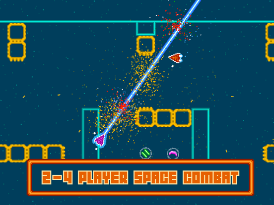 Screenshot from Astro Duel