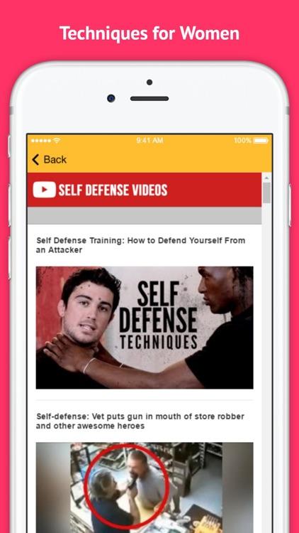 Self Defense - Techniques for Women screenshot-3