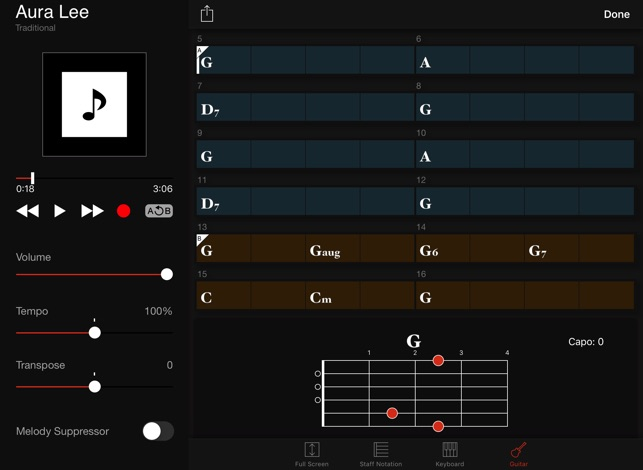 Chord Tracker - US on the App Store