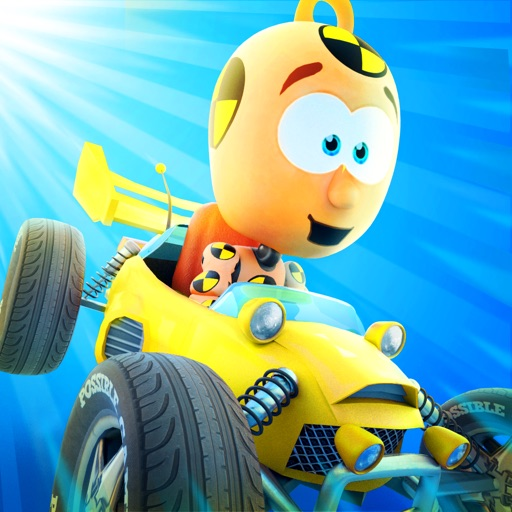 Small & Furious: Challenge the Crazy Crash Test Dummies in an Endless Race