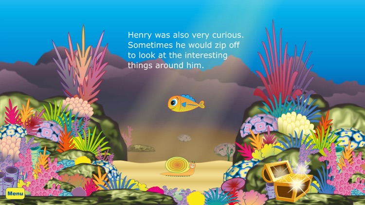 Henry The Little Fish – An interactive children's story book app