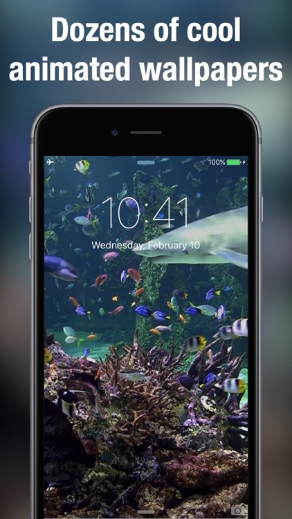 Live Wallpapers for Lock Screen: Animated backgrounds & themes for iPhone screenshot-3