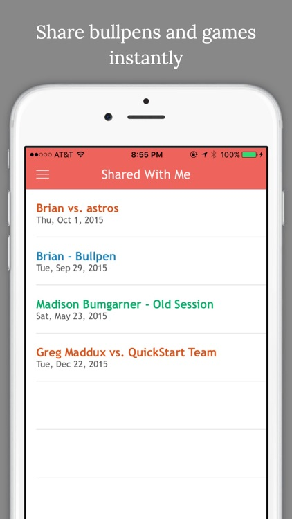 Pitch Cast - Baseball/Softball Pitch Tracker screenshot-4