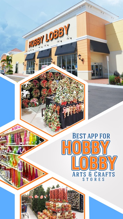 Best App for Hobby Lobby Arts & Crafts Stores