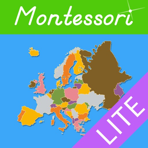 Montessori Approach To Geography HD - Europe Lite