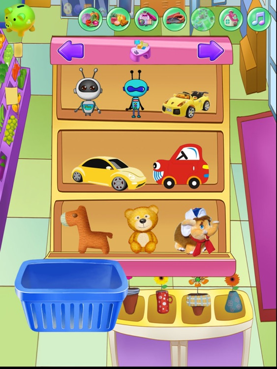 Baby Supermarket:Grade 1 Math Games-Candy Elementary School:USD Coins Counter,Addition and Subtraction HD! screenshot-1