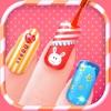 Nail Salon Booth - Princess Girls Color Makeup