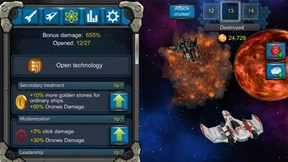 Galaxy War Clicker screenshot three