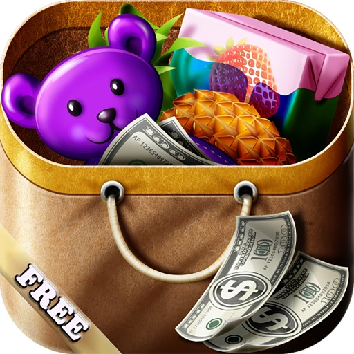 Shopping Game Kids Supermarket  help mom with the shopping list and to pay the cashier ! FREE iOS App