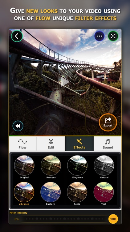 Flow Speed Control ● Camera and Video Editor screenshot-3