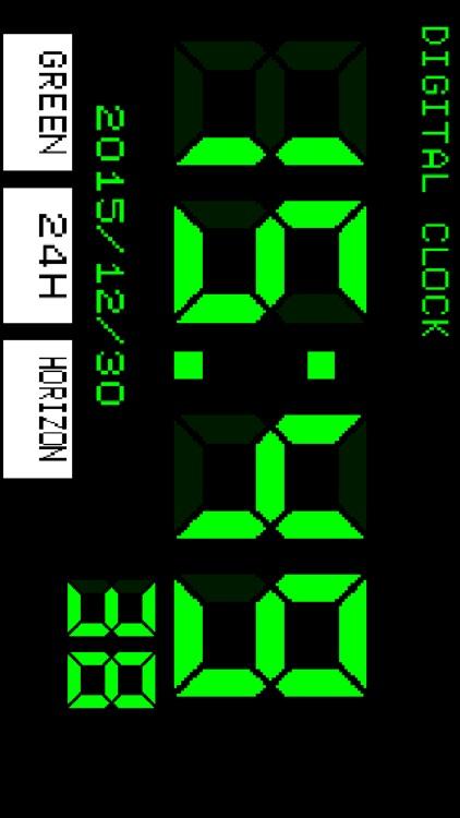 Digital clock[Simple] screenshot-3
