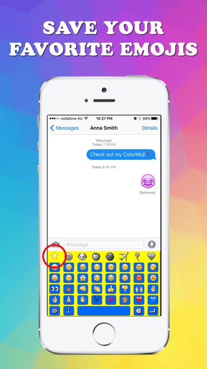 ColorMoji Keyboard - Best Emoji Keyboards screenshot-3