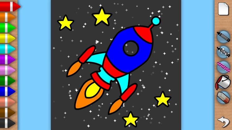 Sparkling Color Book - Coloring Pages for Boys and Girls