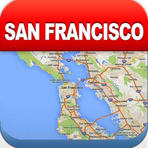 San Francisco Offline Map - City Metro Airport