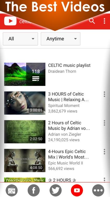Celtic soothing music & Irish radios - The best calming & relaxing Ireland radio fm stations screenshot-3