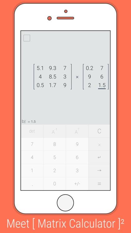 [ Matrix Calculator ] ² screenshot-0