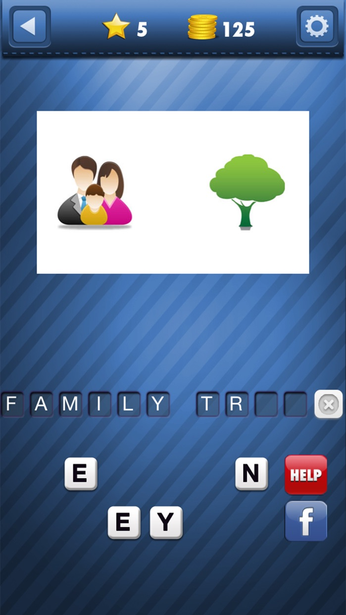 Guess What's the Emoji Icon - Word Quiz Game! Screenshot