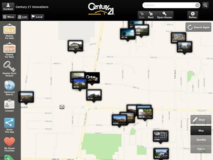 CENTURY 21 Innovations for iPad