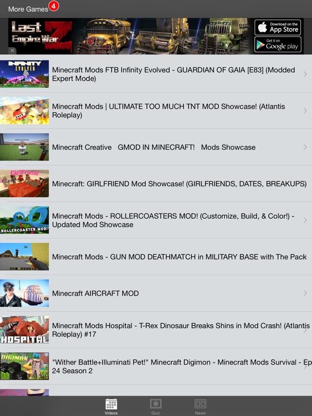 Mods For Minecraft Pc Im App Store