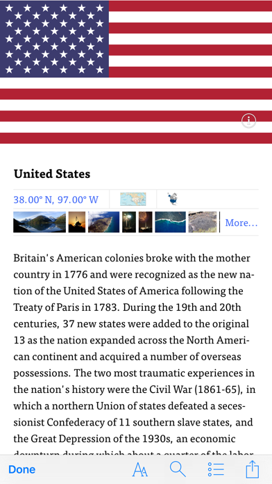 WorldABC Blue — The CIA World FactBookのおすすめ画像2