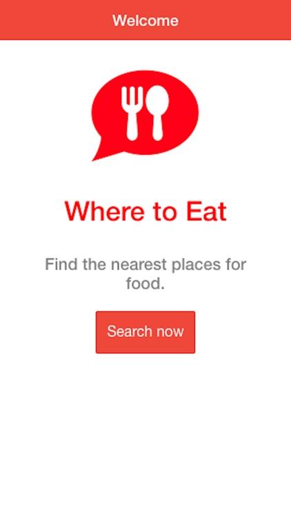 Where to Eat ? screenshot-4