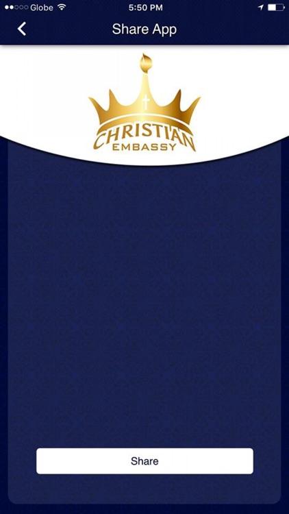 Christian Embassy International Church screenshot-3