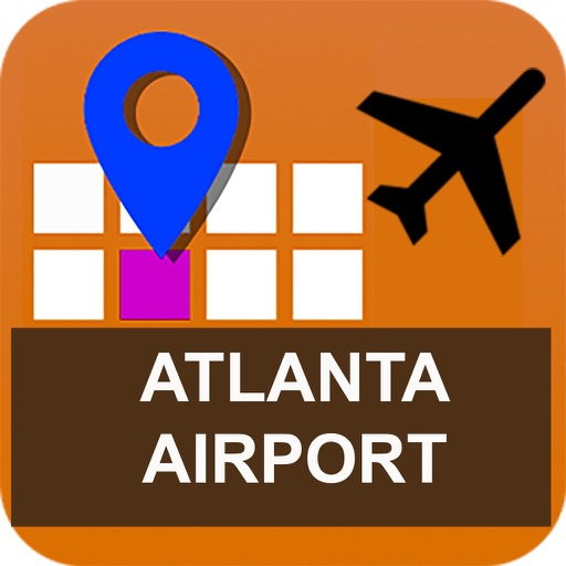Atlanta Airport Map Pro - ATL icon