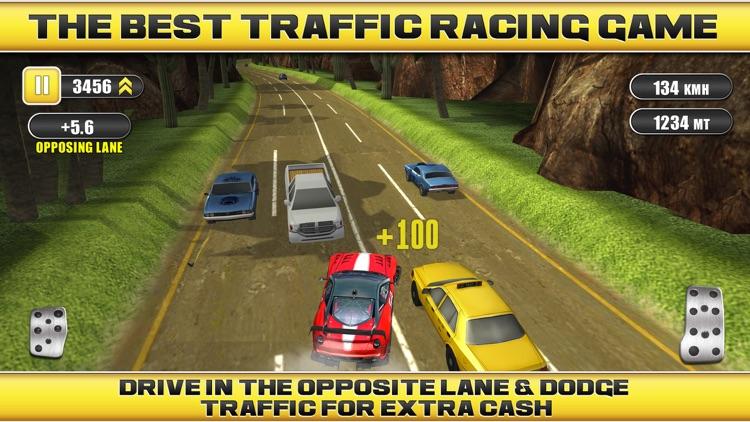 Traffic Racing a Real Endless Road Car Racer Hero