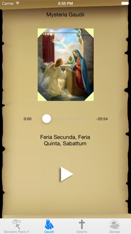 Interactive Rosary with St. John Paul II in Latin screenshot-2