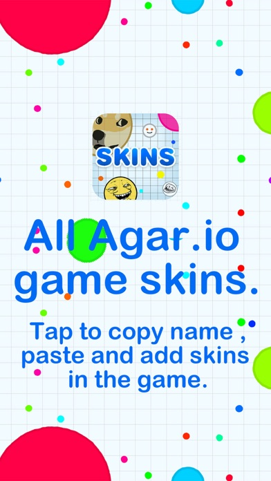 Skins for Agar.io !