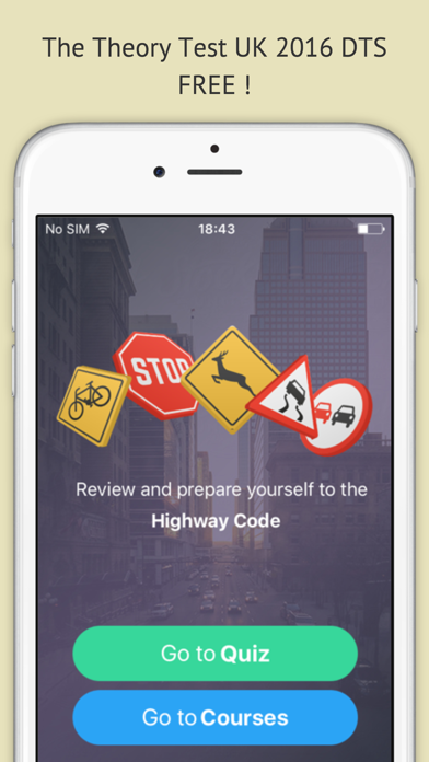 Highway code 2016 free - Driving licence theory screenshot one