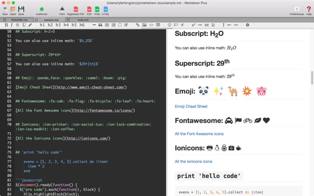 Markdown Plus Im Mac App Store