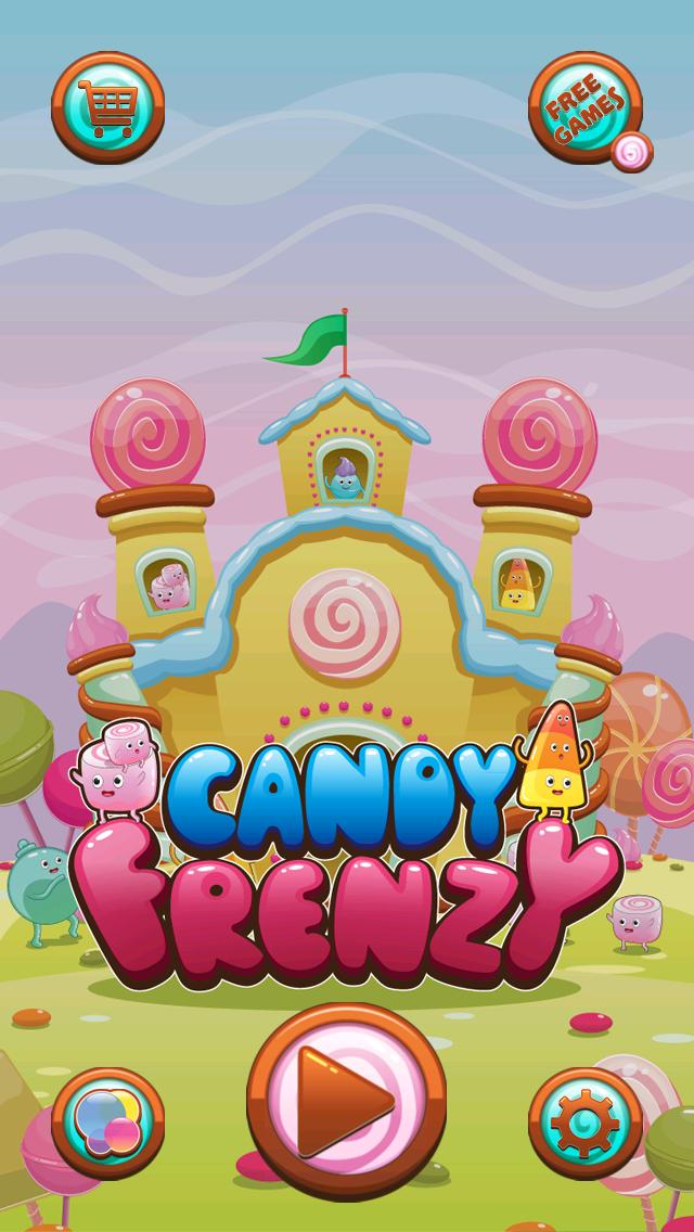 Candy Frenzy Free Game screenshot one