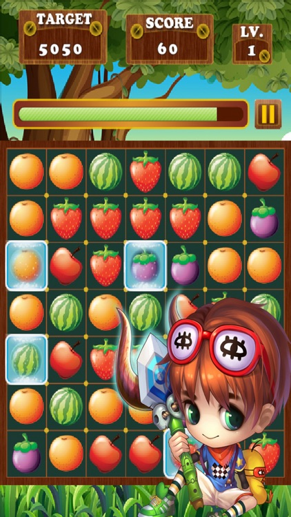 Fruit Link Bar - Puzzle Game Line Match