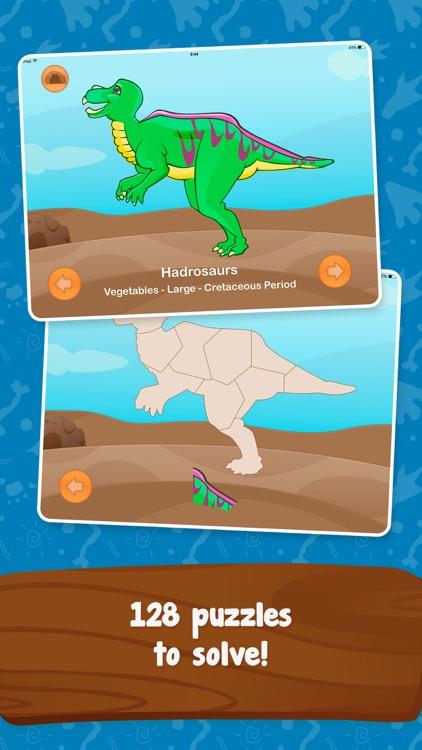 Dinosaur Builder Puzzles Game screenshot-3