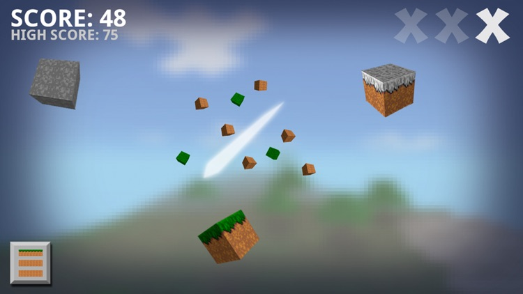 Ninja Craft Free - Slash The Flying Blocks To Find Gems In this Fun Game For Kids And Adults