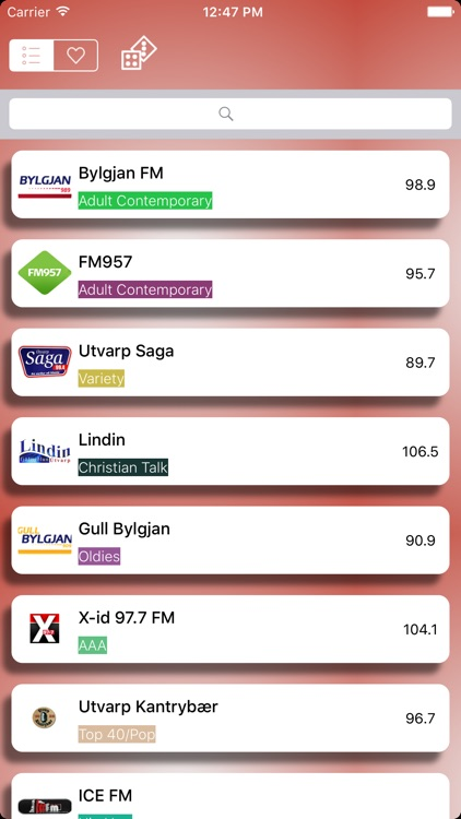 Iceland Radio Live Player (Ísland,Icelandic) screenshot-0