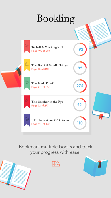 Bookling - Track Your Reading Habits | App Price Drops
