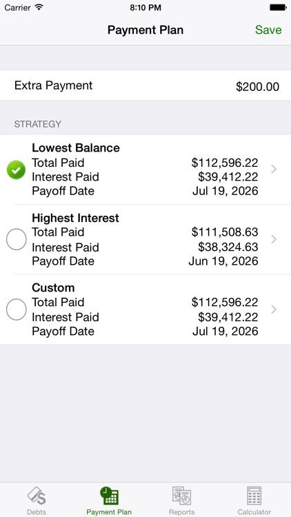Debt Relief - Debt Payoff Assistant screenshot-3
