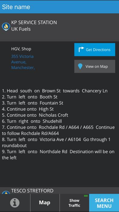 e-route Fuelwise UK screenshot four