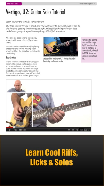 Guitar Coach Magazine. Learn & Play Guitar