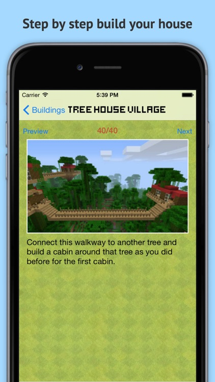 MineGuide Amazing Building Ideas - Free house and building guide for Minecraft Pocket Edition! screenshot-4