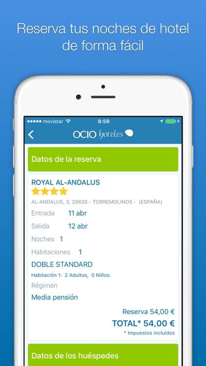 Ocio Hoteles - Las mejores noches de hotel screenshot-3