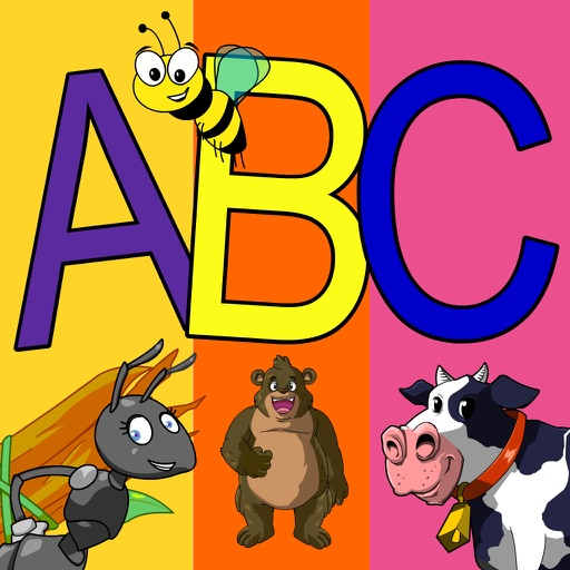 Learn ABC and alphabet thru trace game, flash cards and song. iOS App