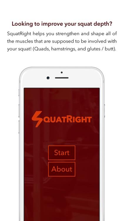 SquatRight - Better Squat Depth, Better Fitness