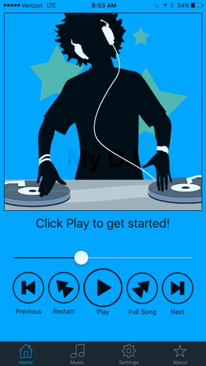My DJ - Crossfade for iPhone on the App Store