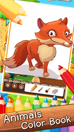 Tiere-Cartoon-Kunst-Auflage: Lernen Malen Und Zeichnen Tiere ...